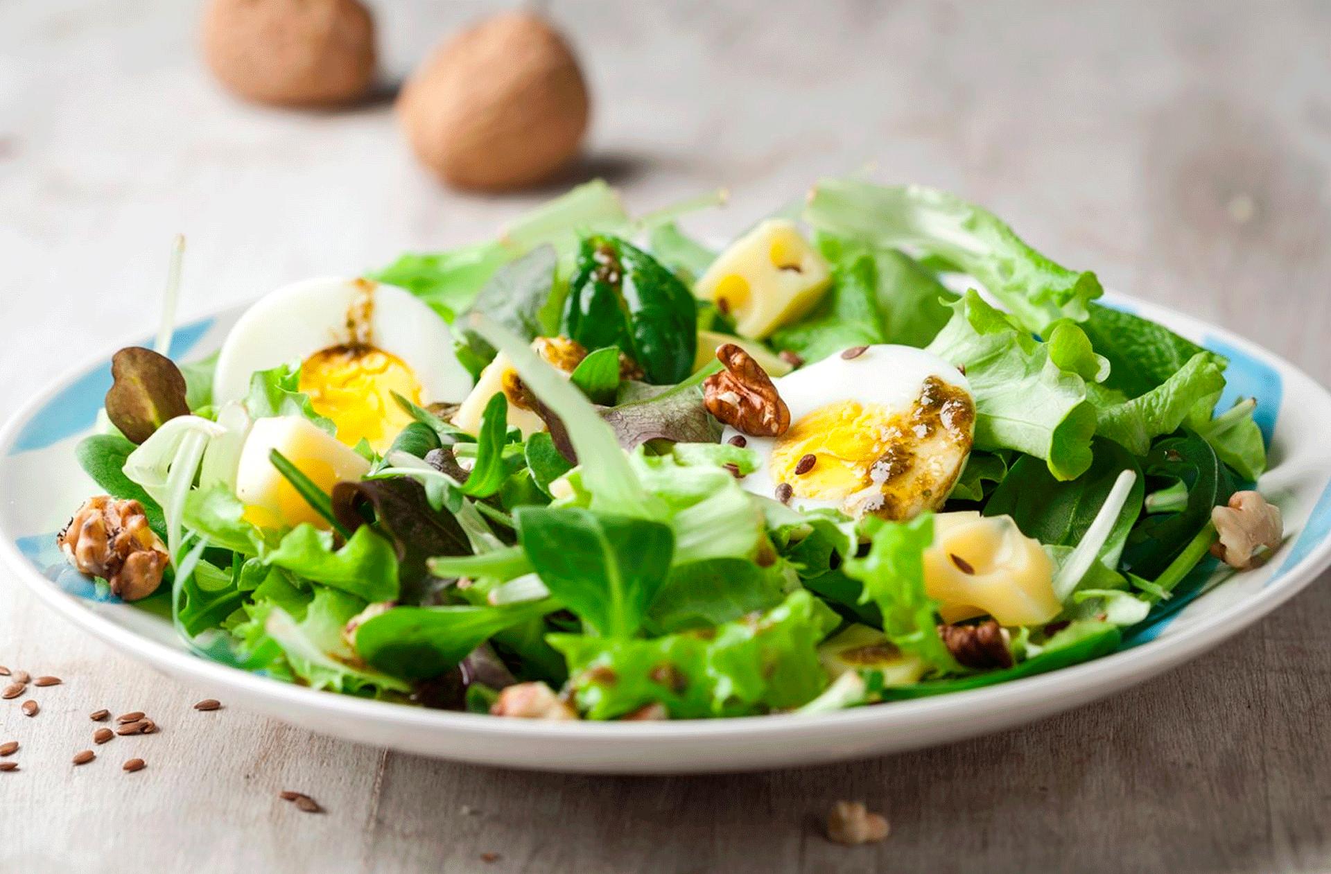6 consejos para preparar tus ensaladas