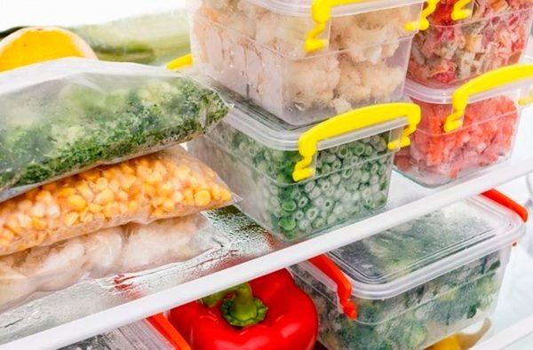 Cómo conservar tus menús semanales en el congelador