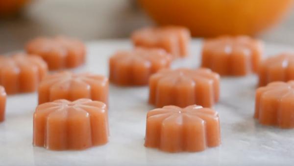 Gominolas saludables de fruta de temporada