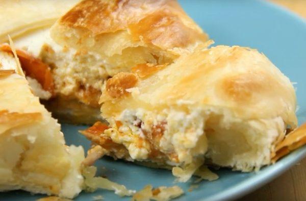 Receta de hojaldre de queso con frutos secos