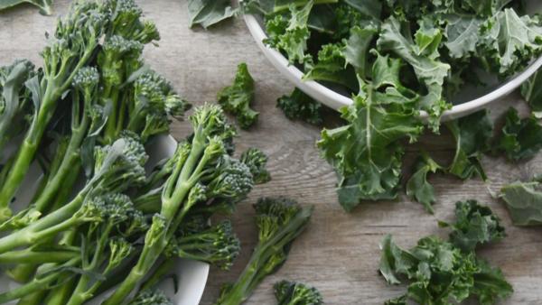 Ideas para cocinar kale y bimi