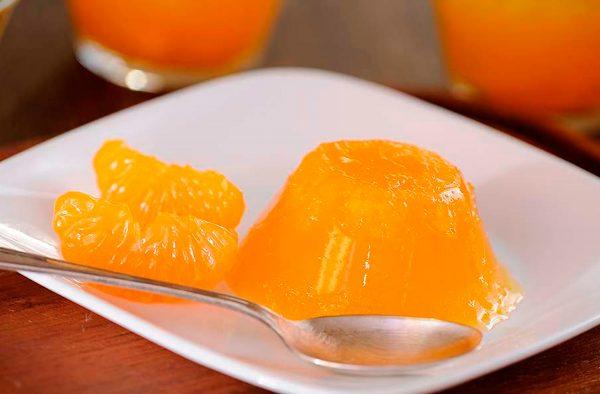 Receta de mousse de mandarina