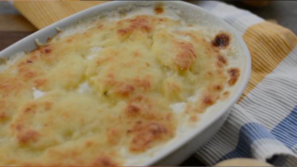 Receta de patatas gratinadas al horno