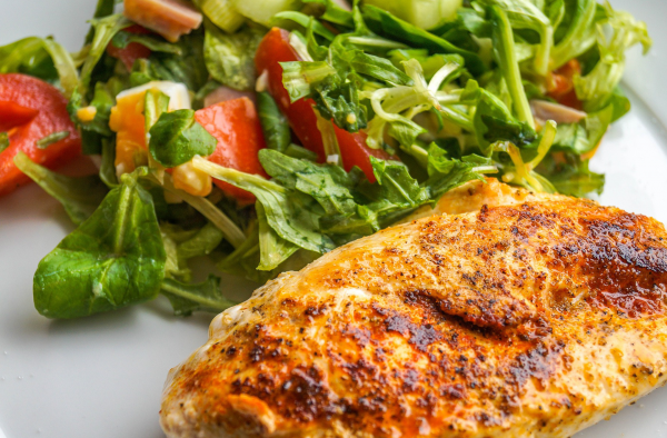 Receta de muslo de pollo al horno