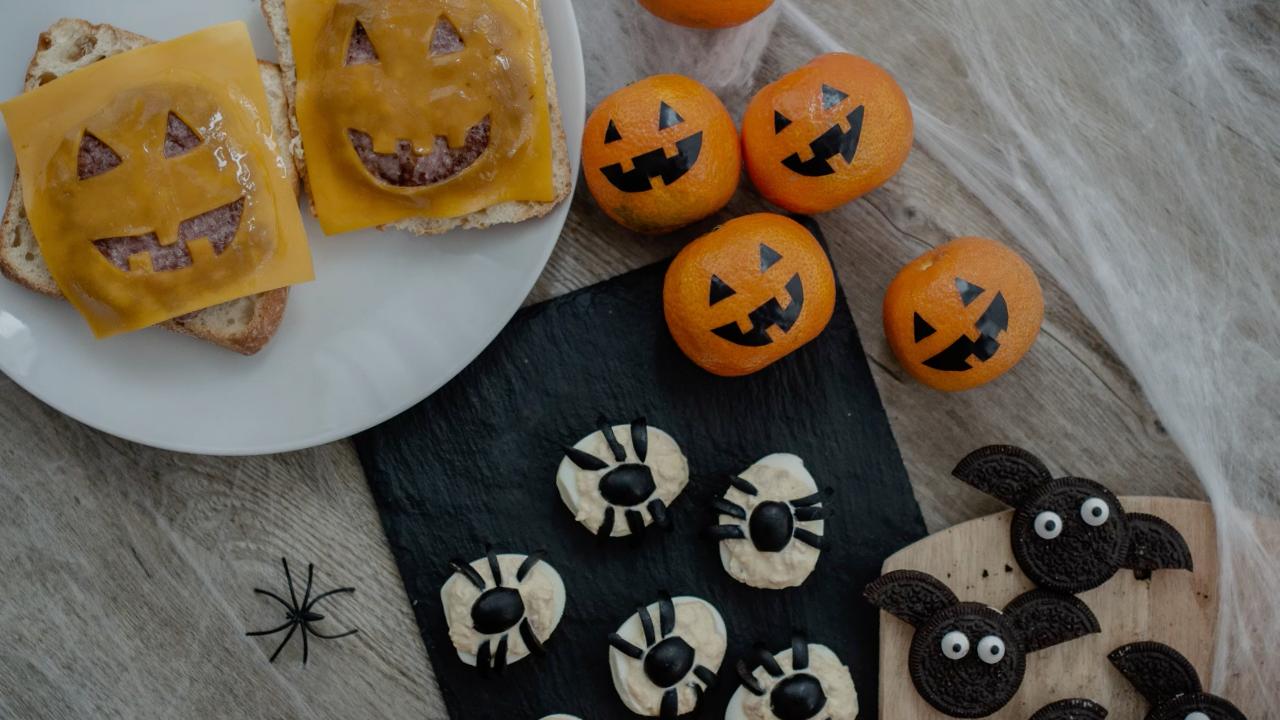 4 recetas para Halloween
